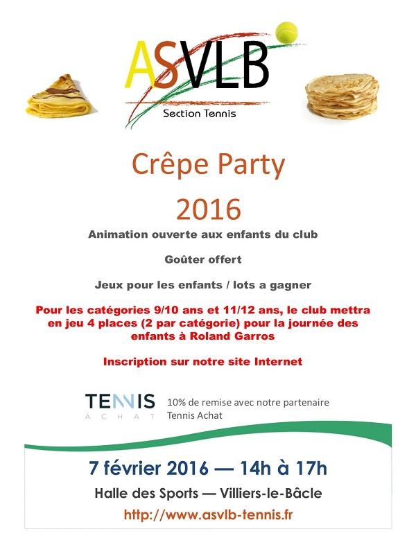 Crêpe Party 2016