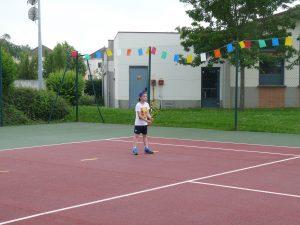 enfant fête tennis